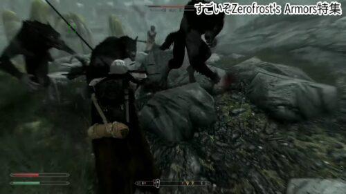Zerofrost's Armorsは宝箱の中にあるのですが、護るモンスターが強いので注意